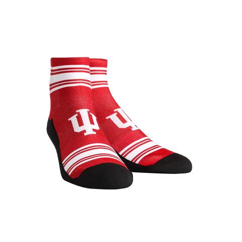 Indiana Hoosiers - Classic Stripes Crimson Quarter