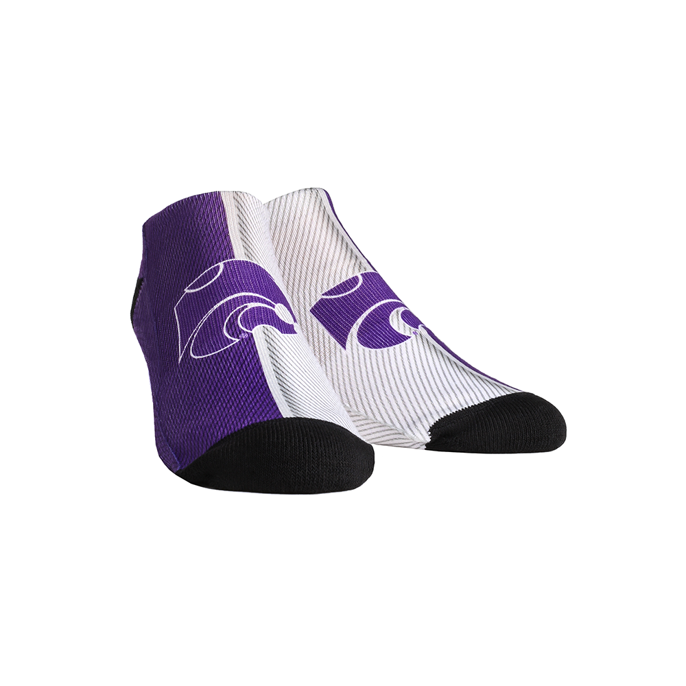 Kansas State Wildcats - Campus Stripes Low Cut