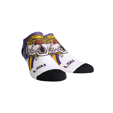 LSU Tigers - Mike the Tiger Mascot Low Cut