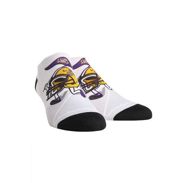 LSU Tigers - Helmet Stride Low Cut