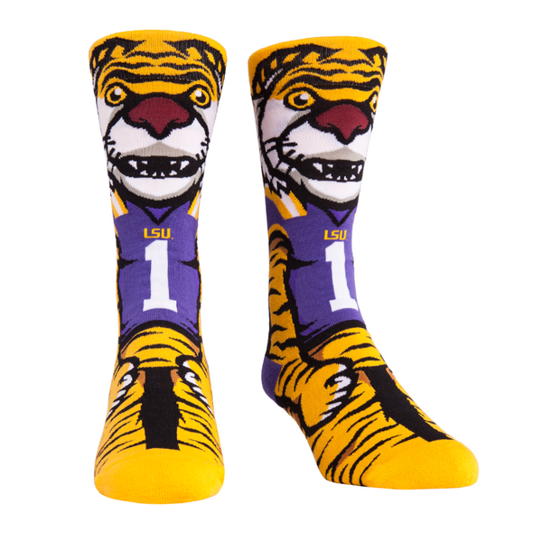 LSU Tigers - Knitted Mascot