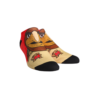 Maryland Terrapins - Testudo Mascot Low Cut