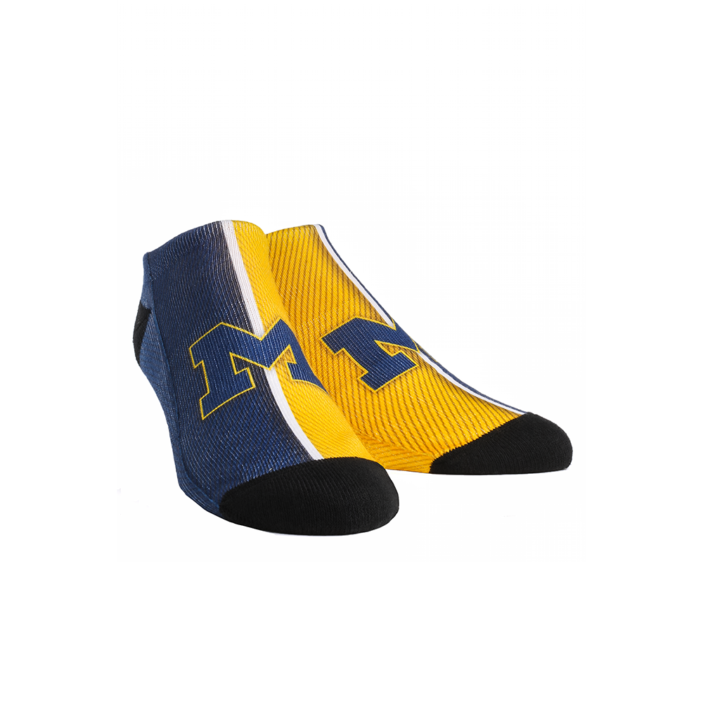 Michigan Wolverines - Campus Stripes Low