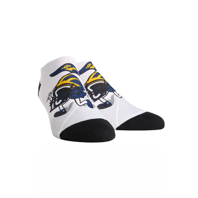 Michigan Wolverines - Helmet Stride Low Cut