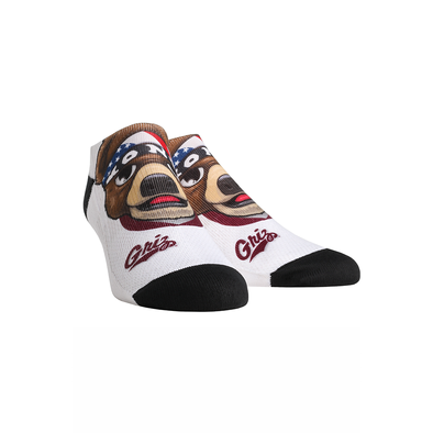 Montana Grizzlies - Mascot Low Cut