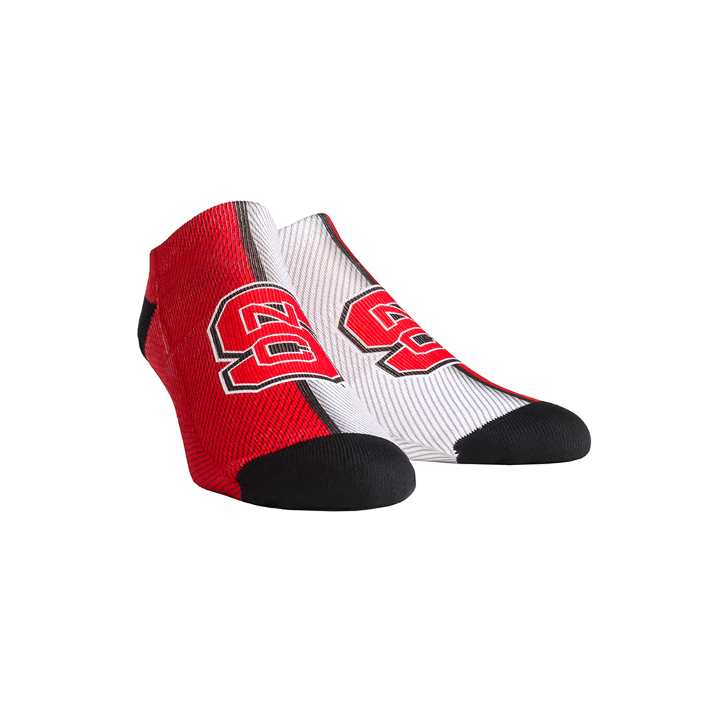 NC State Wolfpack - Campus Stripes Low Cut