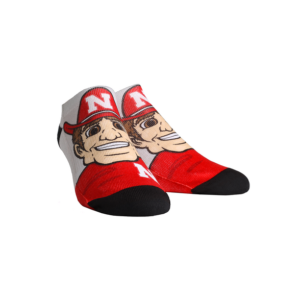 Nebraska Huskers - Herbie Mascot Low Cut