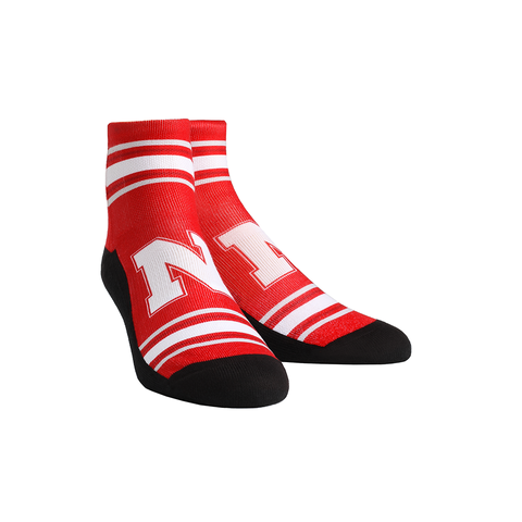 Nebraska Huskers - Classic Stripes Red Quarter