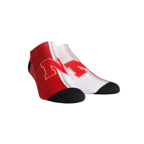 Nebraska Huskers - Campus Stripes Low Cut