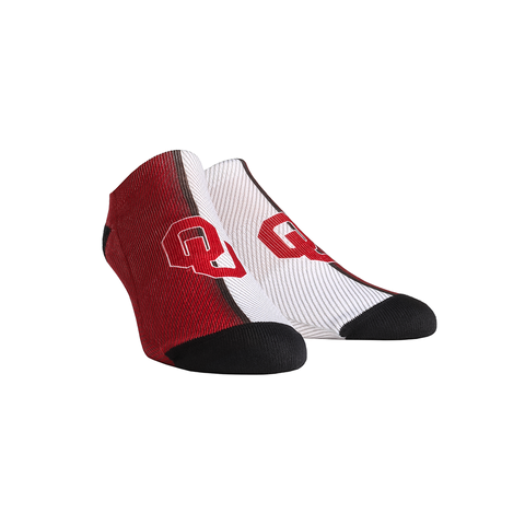 Oklahoma Sooners - Campus Stripes Low Cut