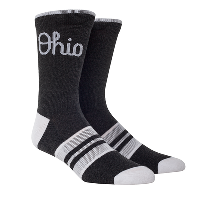 Ohio State Script Ohio Heather Knitted (Black)