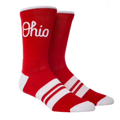 Ohio State - Script Ohio Heather Knitted (Scarlet)