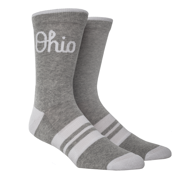 Ohio State Script Ohio Heather Knitted (Light)