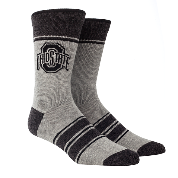 Ohio State - Marl Stripe (Black/Grey)