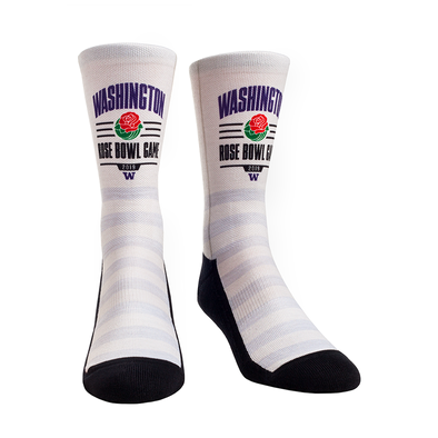 Washington Huskies - Rose Bowl Socks 2019
