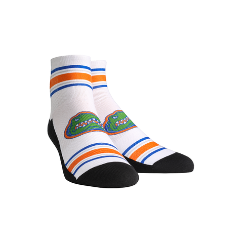 Florida Gators - Classic Stripes White Quarter