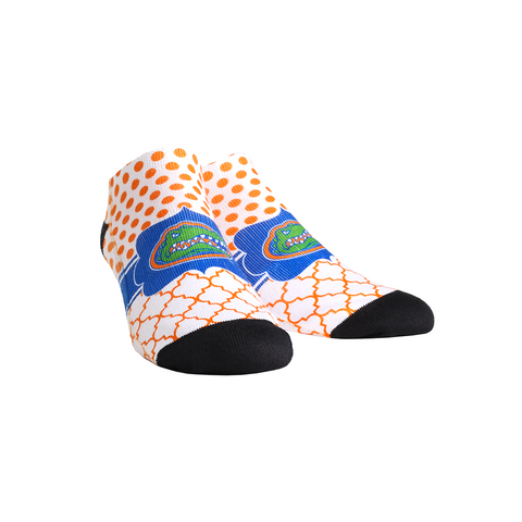 Florida Gators - Quatrefoil Dots Low Cut