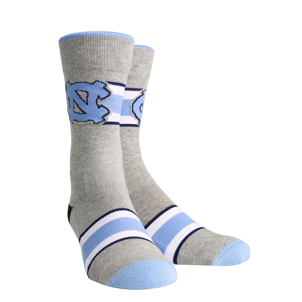 North Carolina Tar Heels - Varsity Stripe Gray