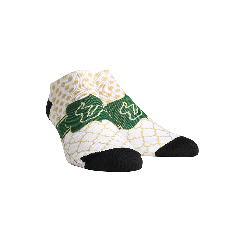 USF Bulls - Quatrefoil Dots Low Cut