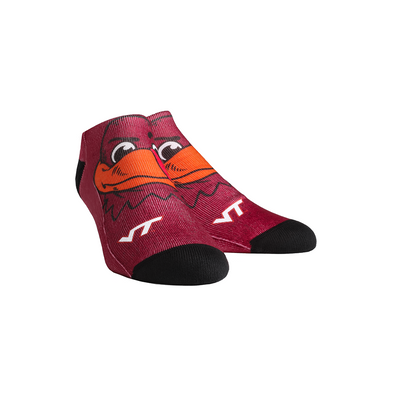 Virginia Tech Hokies - HokieBird Mascot Low Cut