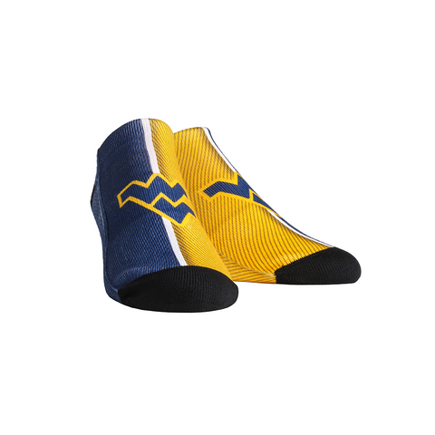 West Virginia Mountaineers - Campus Stripes Low Cut