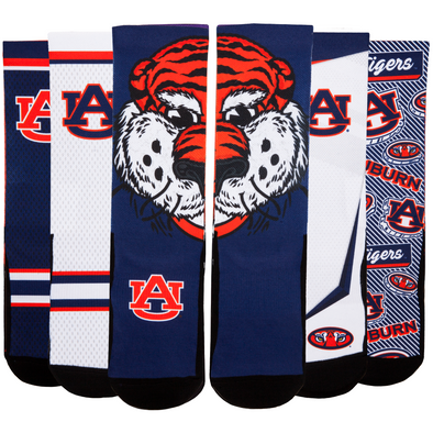 Auburn Tigers - Super Fan 5 Pack