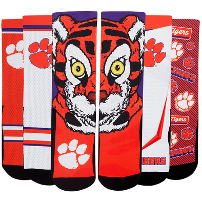 Clemson Tigers - Super Fan 5 Pack