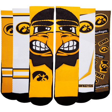 Iowa Hawkeyes - Super Fan 5 Pack