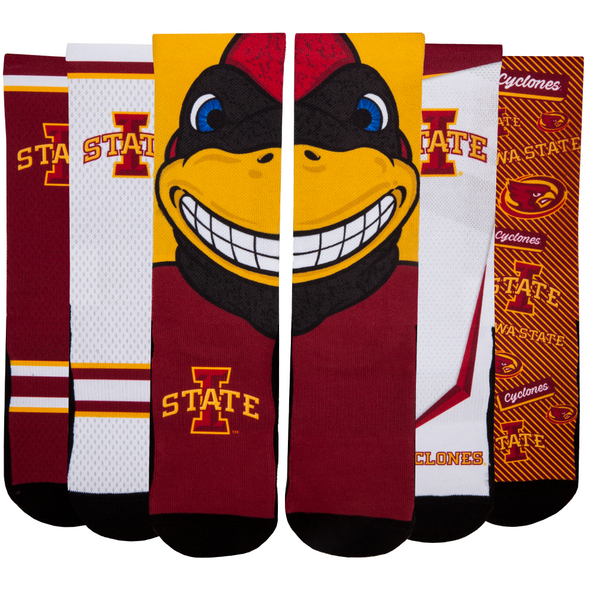 Iowa State Cyclones - Super Fan 5 Pack