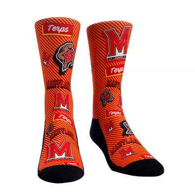 Maryland Terrapins - Sticker Statement Crew