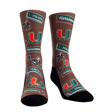 Miami Hurricanes - Sticker Statement Crew