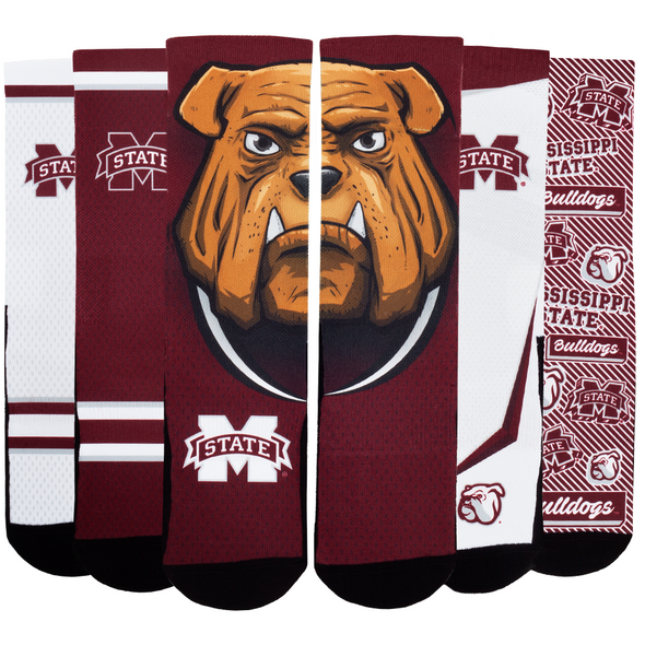 Mississippi State Bulldogs - Super Fan 5 Pack