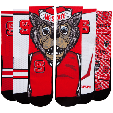 NC State Wolfpack - Super Fan 5 Pack