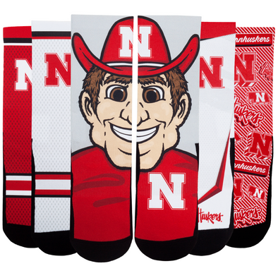 Nebraska Huskers - Super Fan 5 Pack