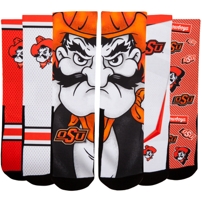 Oklahoma State Cowboys - Super Fan 5 Pack