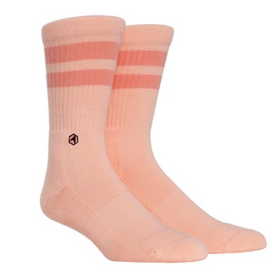 Cotton Casuals - Pale Peach Stripes