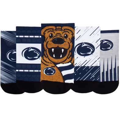 Penn State Nittany Lions - Super Fan 5 Pack - Low Cut
