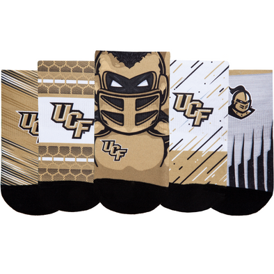 UCF Knights - Super Fan 5 Pack - Low Cut