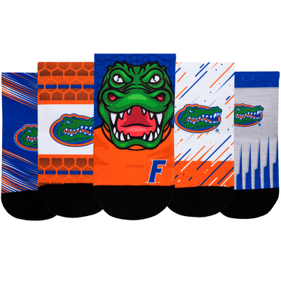 Florida Gators - Super Fan 5 Pack - Low Cut