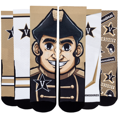 Vanderbilt Commodores - Super Fan 5 Pack