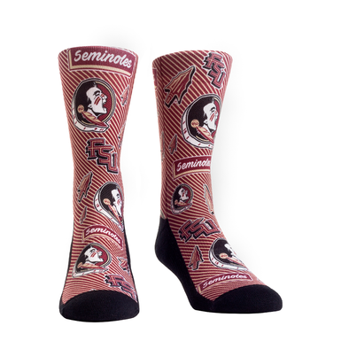 Florida State Seminoles - Sticker Statement Crew