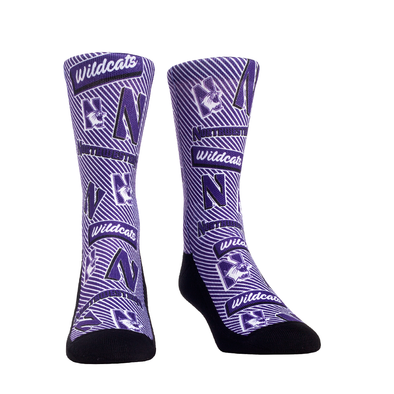 Northwestern Wildcats - Sticker Statement Crew