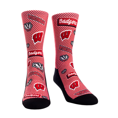 Wisconsin Badgers - Sticker Statement Crew