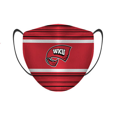 Western Kentucky Hilltoppers - Face Mask - Classic Lines