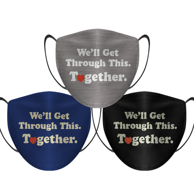 We'll Get Through This Together (3-Pack) - Face Mask
