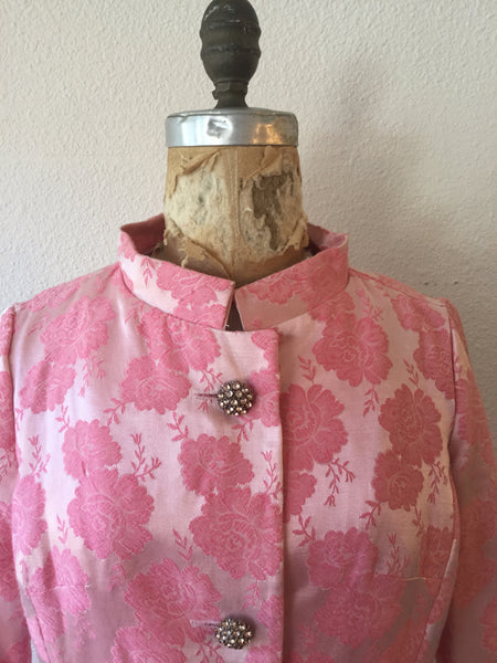 Carol 1960s Pink Suit | XSmall/Small