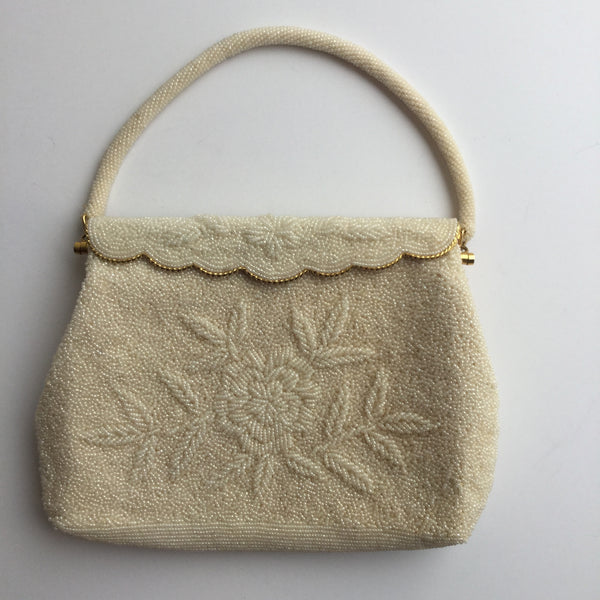 Blanche 1960s Beaded Handbag