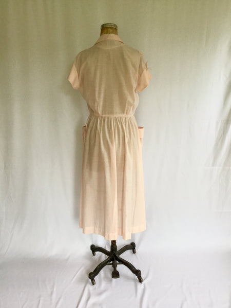 Alexandra 1950s Shirtwaist Dress | Medium