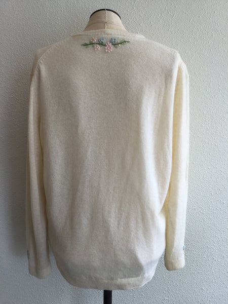 Greco Deco 1950s Cardigan | Small/Medium