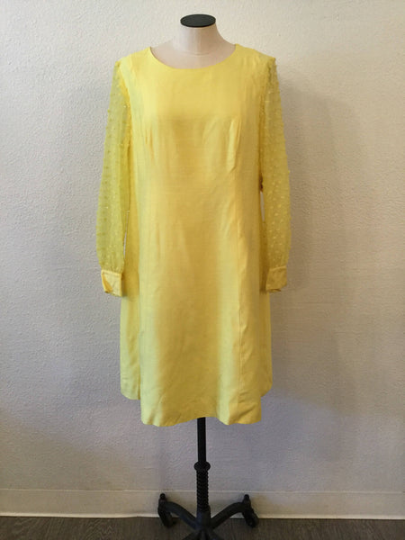 Lemon 1960s Dress | XLarge